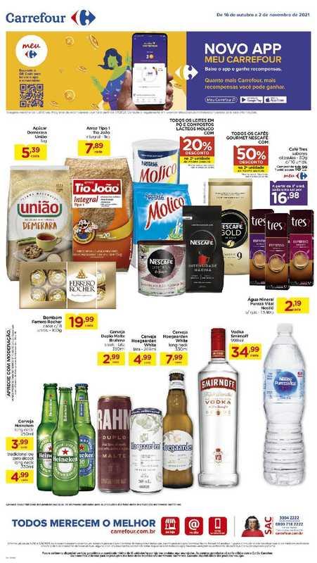 Carrefour - encarte válido de 18.10.2021 até 02.11.2021 - página 1.