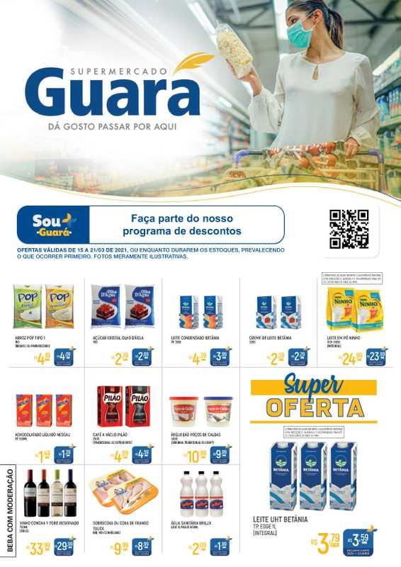 Guará - encarte válido de 15.03.2021 até 21.03.2021 - página 1.