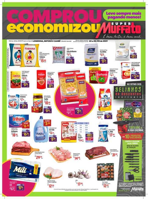 Super Muffato - encarte válido de 20.09.2021 até 25.09.2021 - página 1.