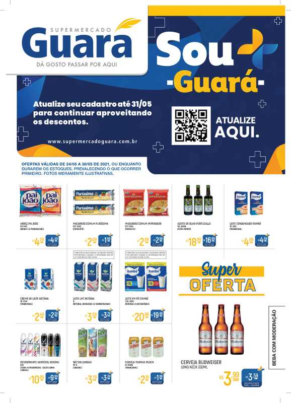 Guará - encarte válido de 25.05.2021 até 30.05.2021 - página 1.