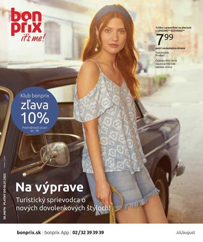 Bonprix - promo od 17.08.2021 do 05.01.2022 - stránka 1.
