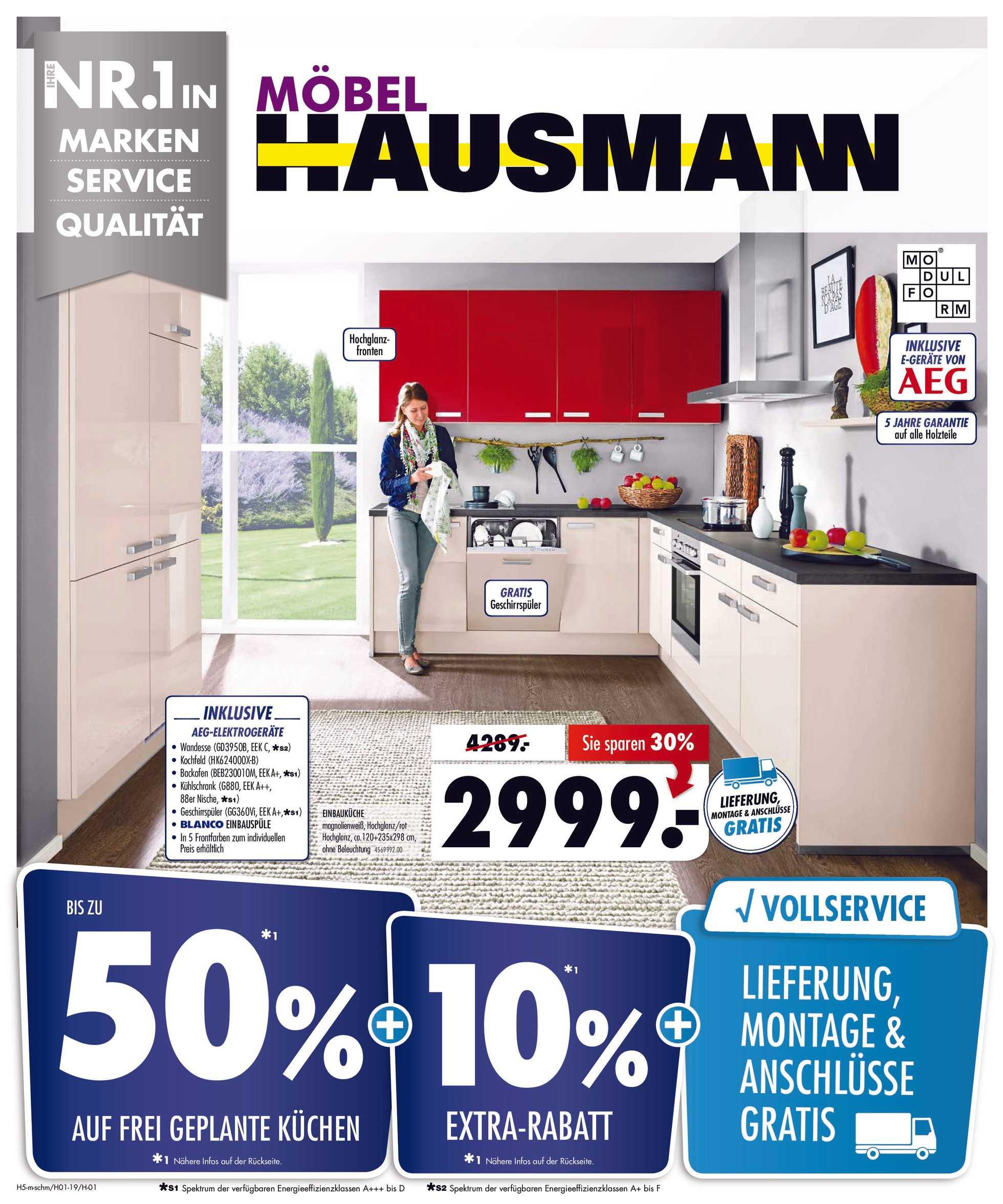 Möbel Hausmann - NEWSPAPERS_singleNewspaper_alt_presentationSliderItem_startAt 2019-01-22 - seite 1