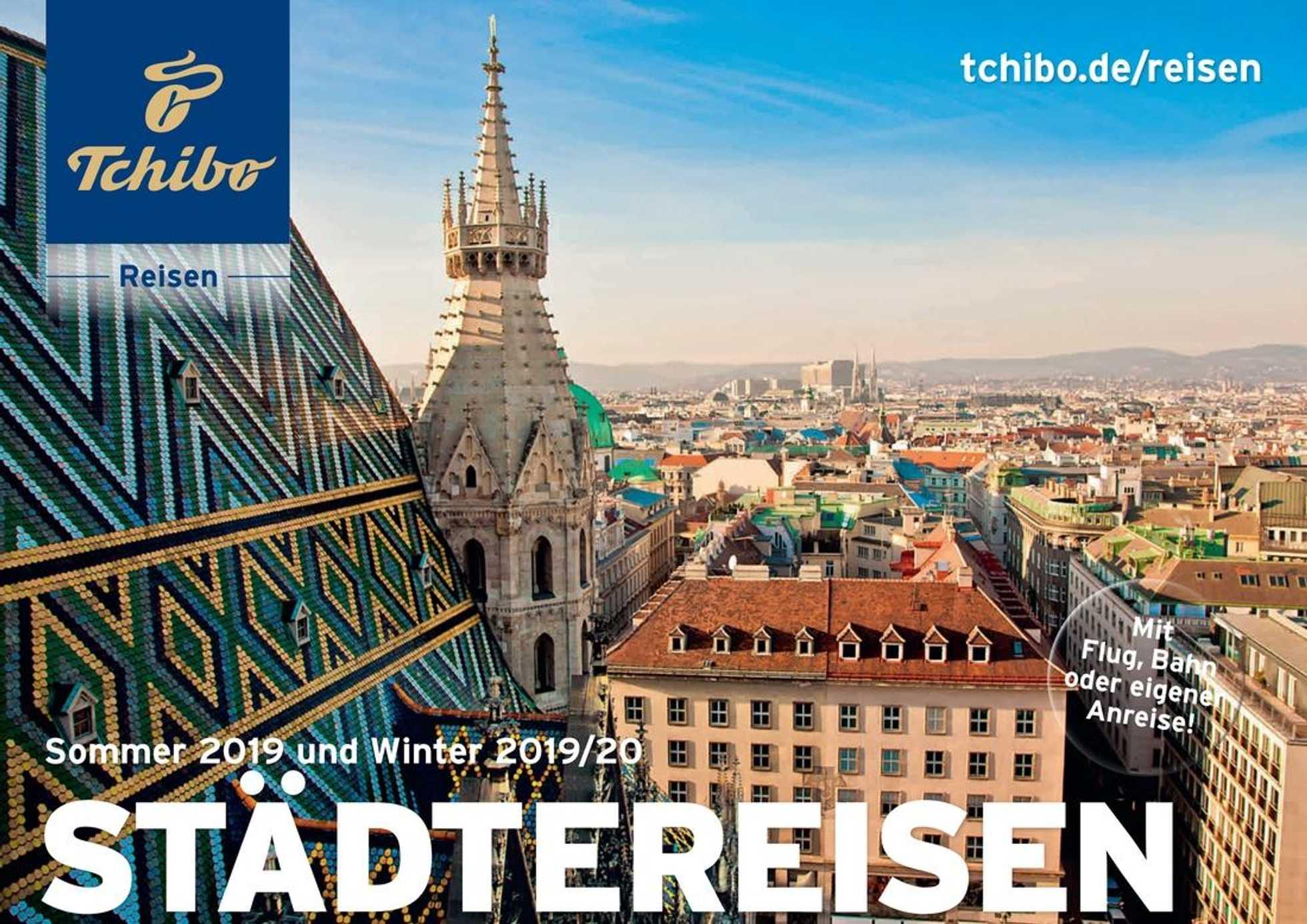 details for biggest discount 2018 shoes Tchibo Reisen Prospekt | Städtereisen | de.promotons.com