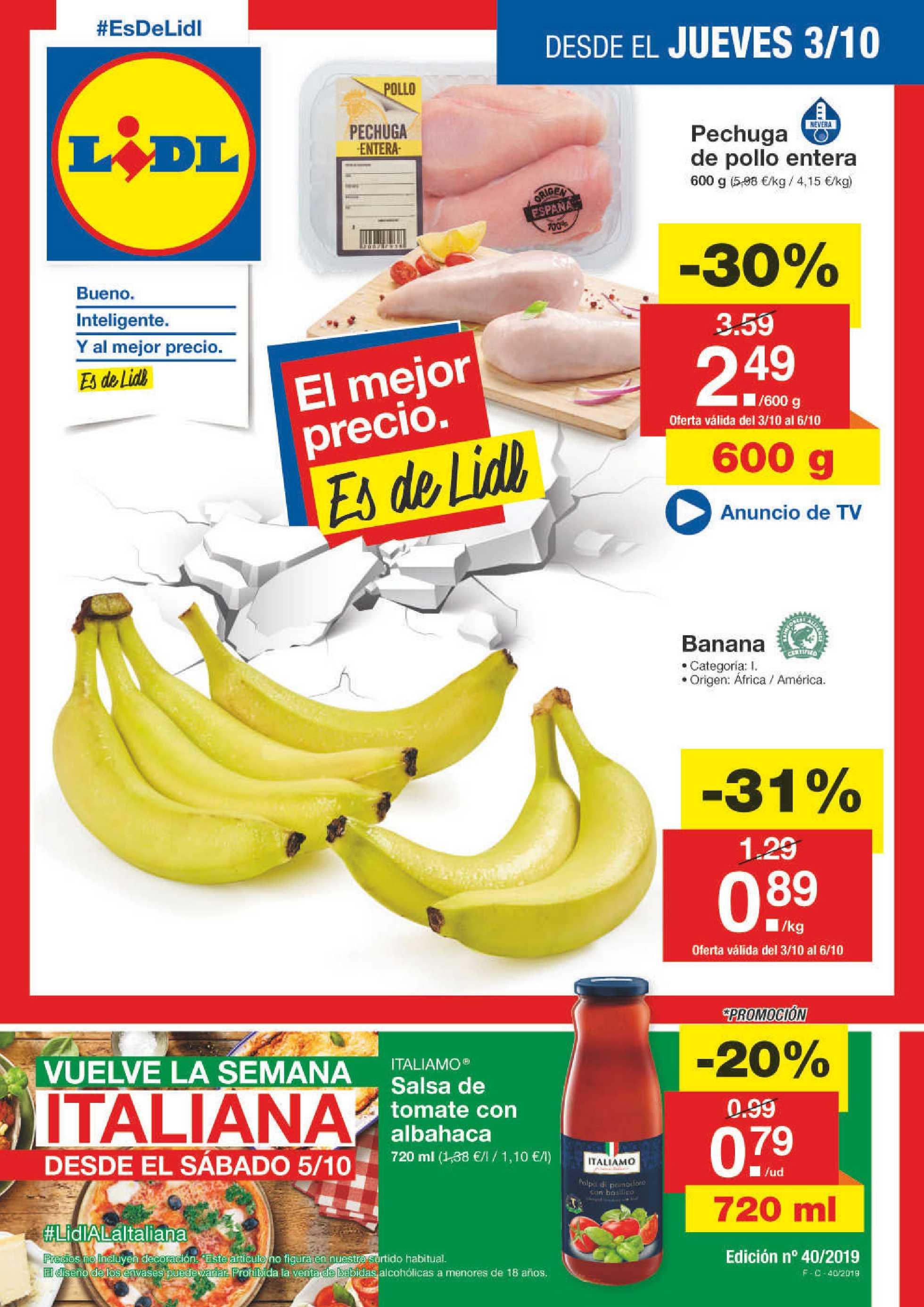 mejor sitio web Buenos precios encanto de costo Lidl - Ofertas semanales - 03-10-2019 | es.promotons.com