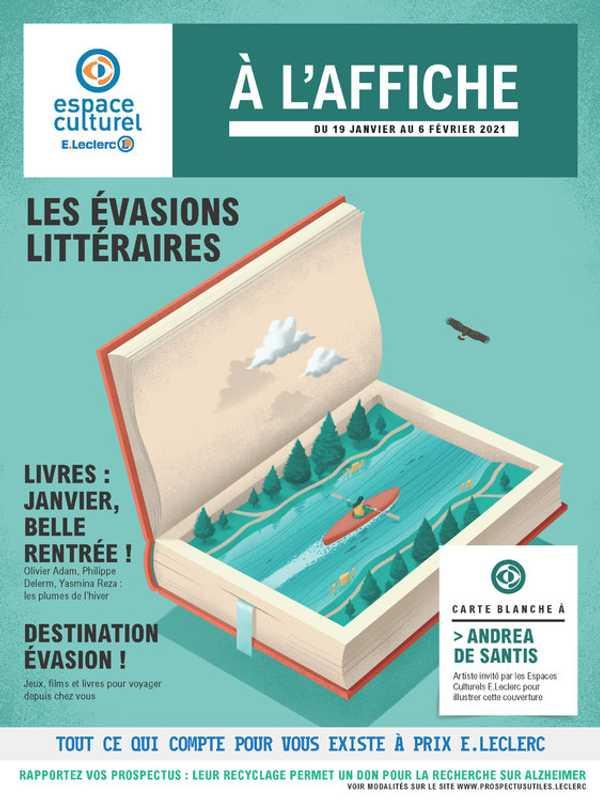 E.Leclerc Espace Culturel - promo valable du 19.01.2021 au 06.02.2021 - page 1.