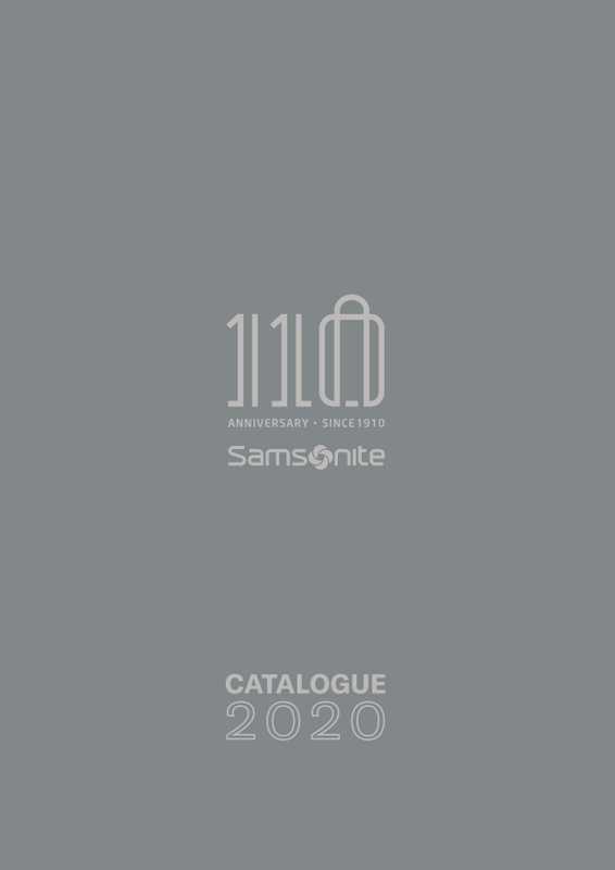 Samsonite - promo valable du 01.02.2020 au 31.12.2020 - page 1.
