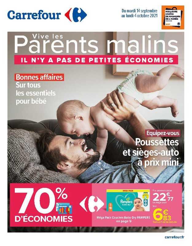 Carrefour - promo valable du 14.09.2021 au 04.10.2021 - page 1.