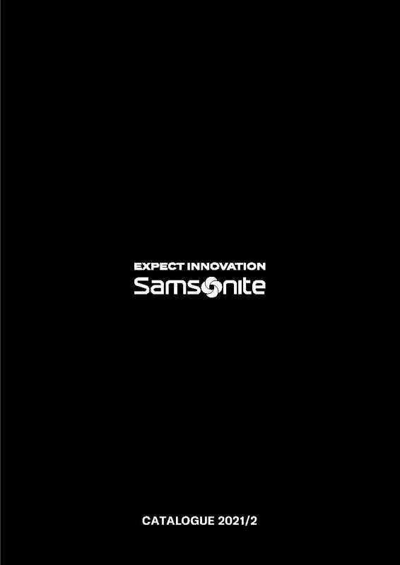 Samsonite - promo valable du 09.08.2021 au 31.03.2022 - page 1.
