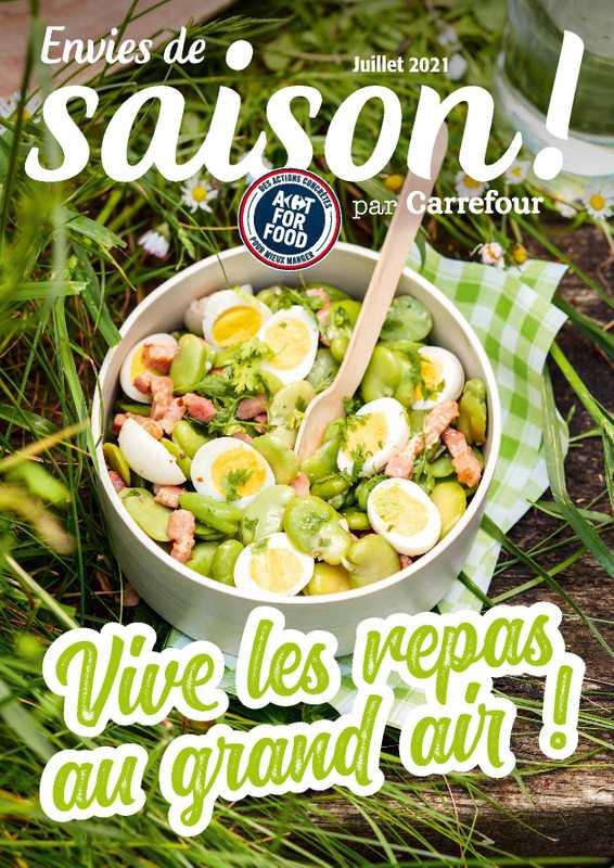 Carrefour - promo valable du 01.07.2021 au 31.07.2021 - page 1.