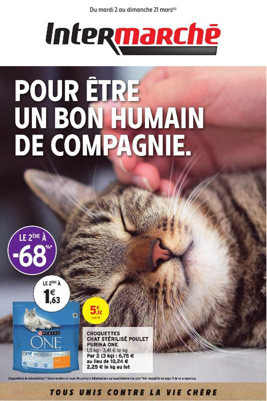 Intermarché Contact - promo valable du 02.03.2021 au 21.03.2021 - page 1.