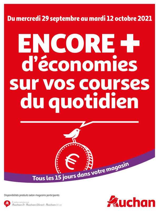 Auchan - promo valable du 29.09.2021 au 12.10.2021 - page 1.