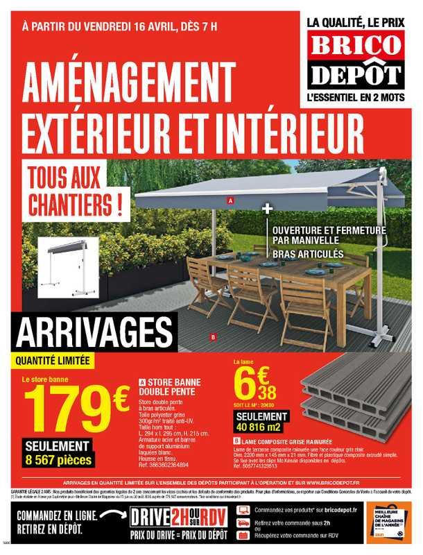 Brico Dépôt - promo valable du 16.04.2021 au 06.05.2021 - page 1.
