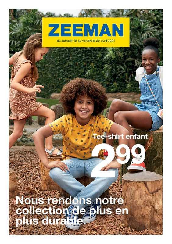 Zeeman - promo valable du 10.04.2021 au 23.04.2021 - page 1.