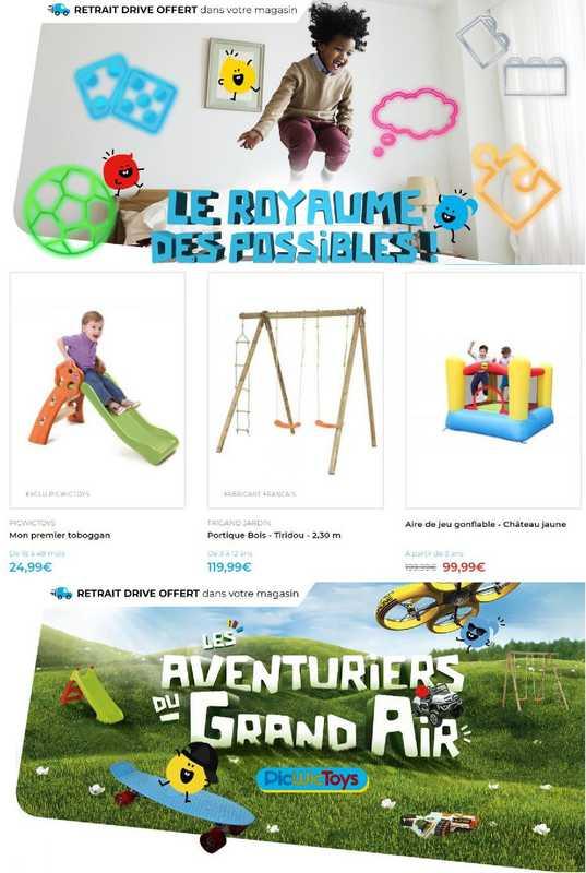 PicWicToys - promo valable du 07.04.2021 au 30.04.2021 - page 1.