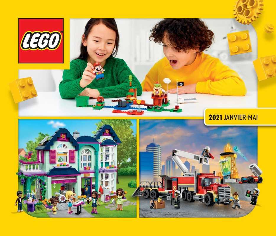 Lego - promo valable du 01.01.2021 au 30.06.2021 - page 1.