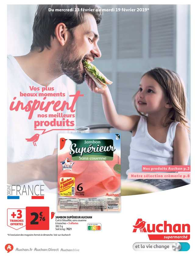 Auchan - NEWSPAPERS_singleNewspaper_alt_presentationSliderItem_startAt 2019-02-13 - page 1