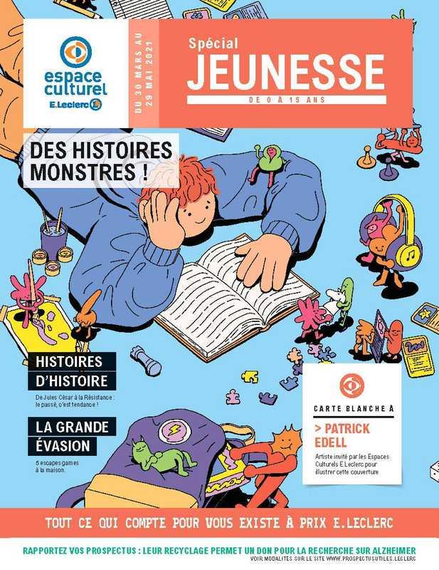 E.Leclerc Espace Culturel - promo valable du 30.03.2021 au 29.05.2021 - page 1.