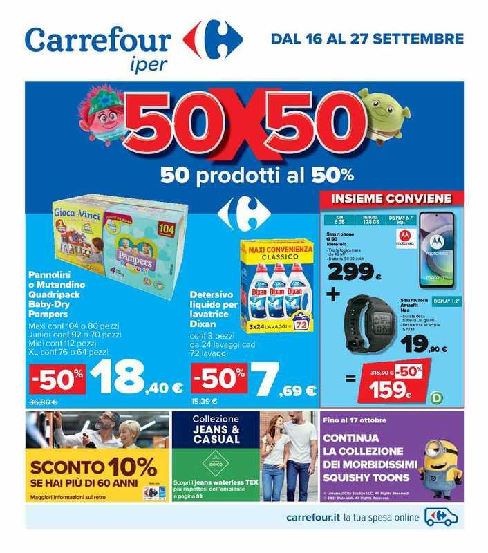 Carrefour Iper - offerte valide dal 16.09.2021 al 27.09.2021 - pagina 1.