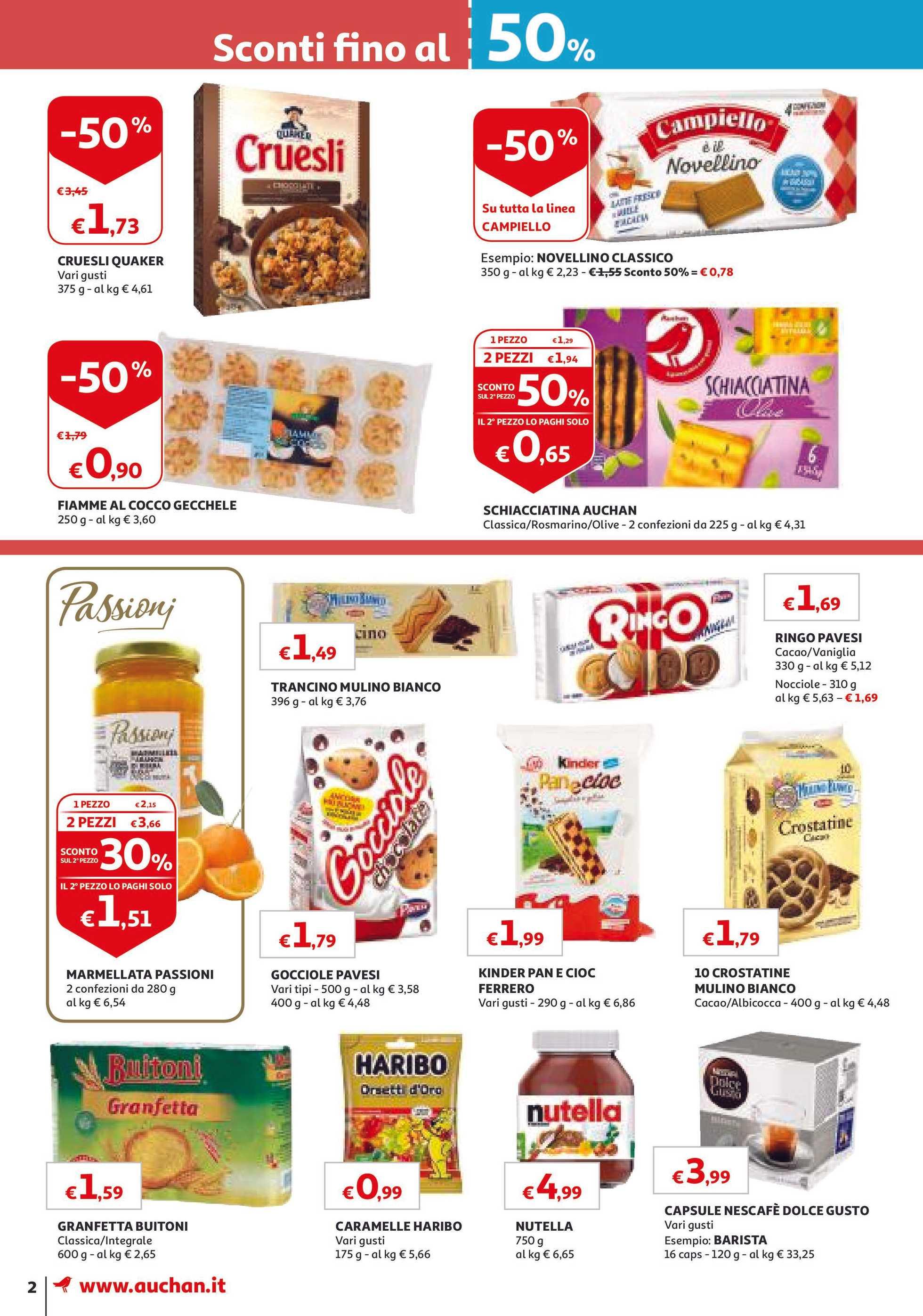 Volantino Auchan Le Ultime Offerte Itpromotonscom