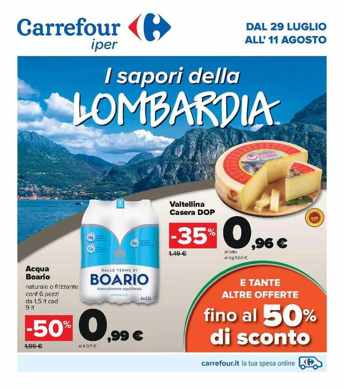 Carrefour Iper - offerte valide dal 29.07.2021 al 11.08.2021 - pagina 1.