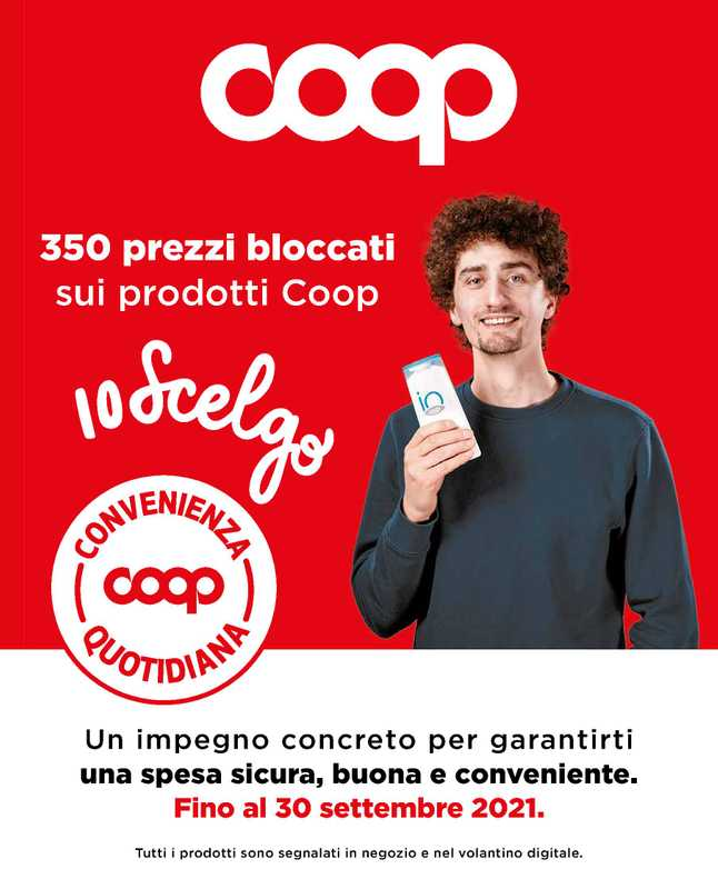 Coop Alleanza 3.0 - offerte valide dal 01.06.2021 al 30.09.2021 - pagina 1.