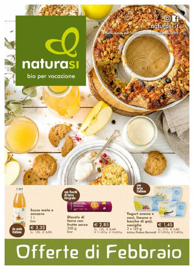 Natura Sì - NEWSPAPERS_singleNewspaper_alt_presentationSliderItem_startAt 2019-01-30 - pagina 1