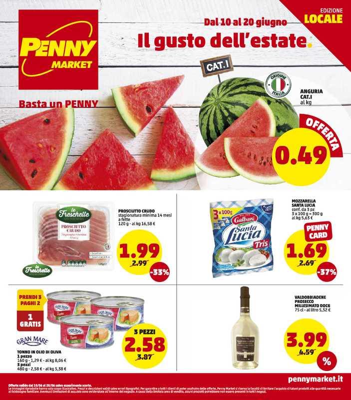 Penny Market - offerte valide dal 10.06.2021 al 20.06.2021 - pagina 1.