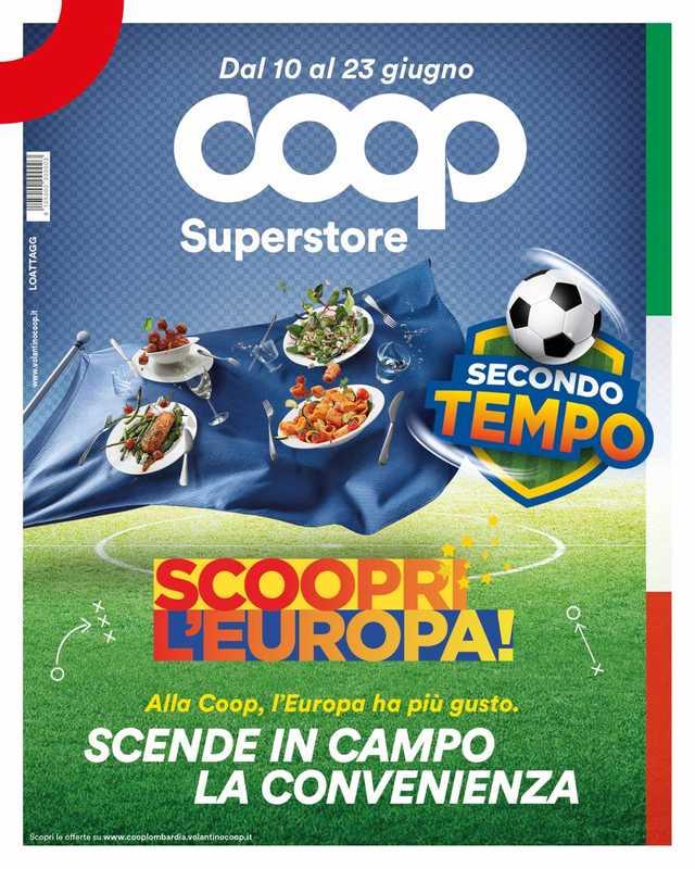 Coop Lombardia - offerte valide dal 10.06.2021 al 23.06.2021 - pagina 1.