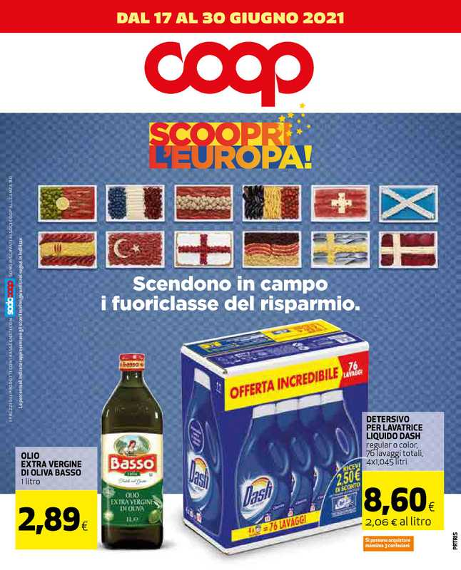Coop Alleanza 3.0 - offerte valide dal 17.06.2021 al 30.06.2021 - pagina 1.