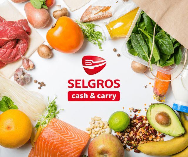 Descoperă ultimul catalog de oferte Selgros