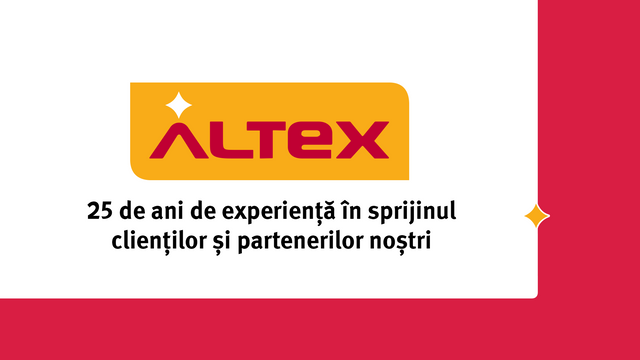 Altex România – brand românesc de peste 25 de ani