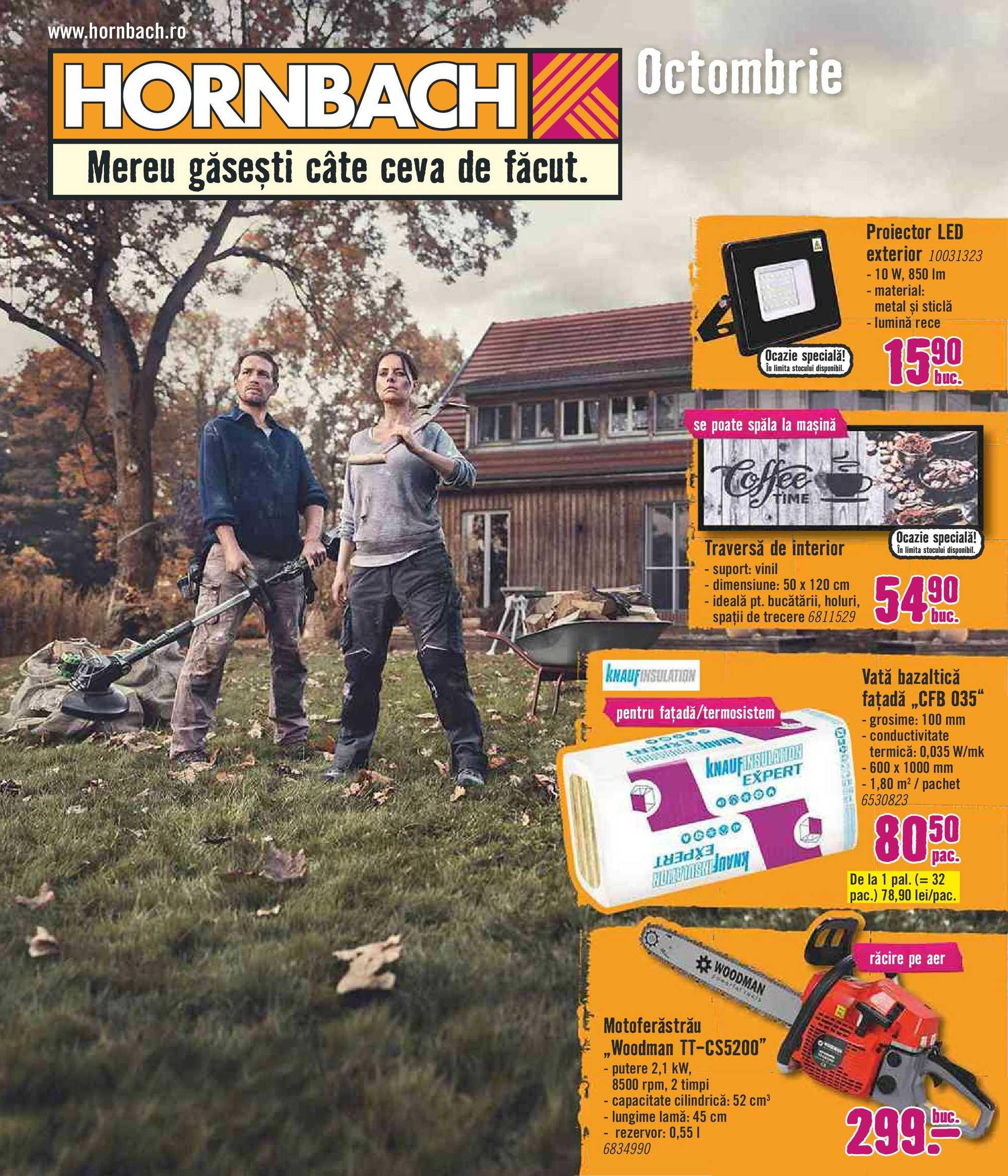Hornbach - promo începând de la 01-10-2019 - pagină 1