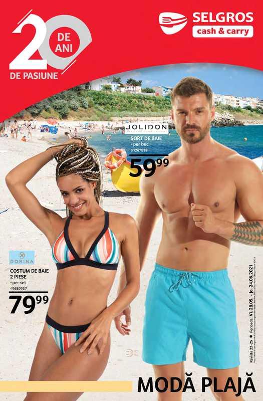 Selgros - promo începând de la 28.05.2021 până la 24.06.2021 - pagină 1.