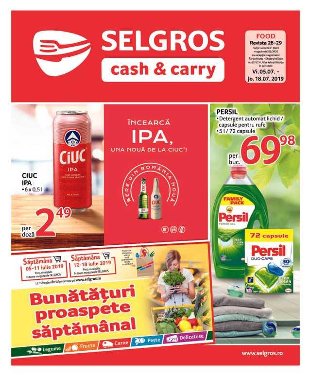Selgros - NEWSPAPERS_singleNewspaper_alt_presentationSliderItem_startAt 2019-07-05 - pagină 1