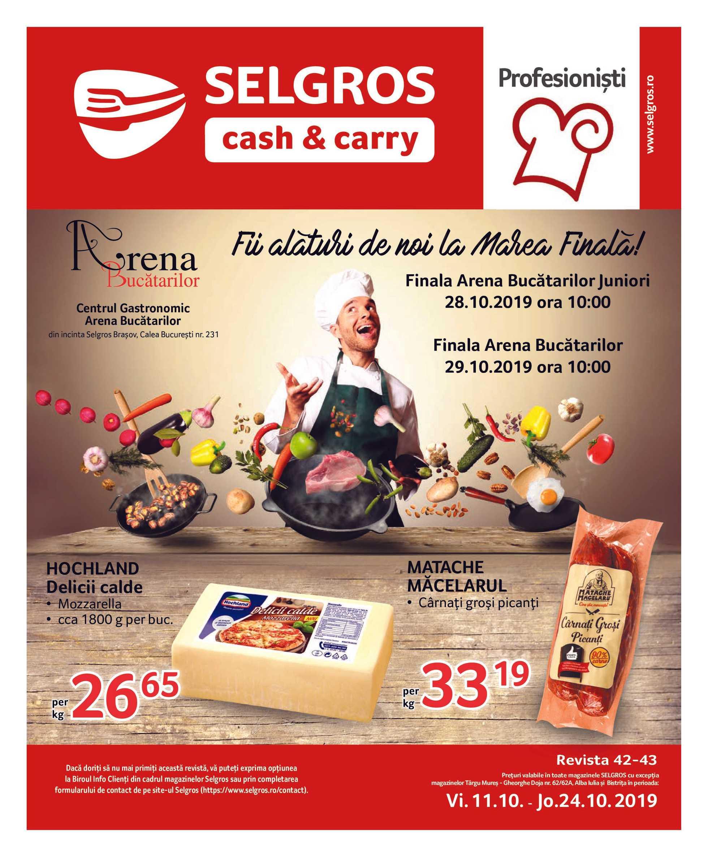 Selgros - promo începând de la 11-10-2019 - pagină 1