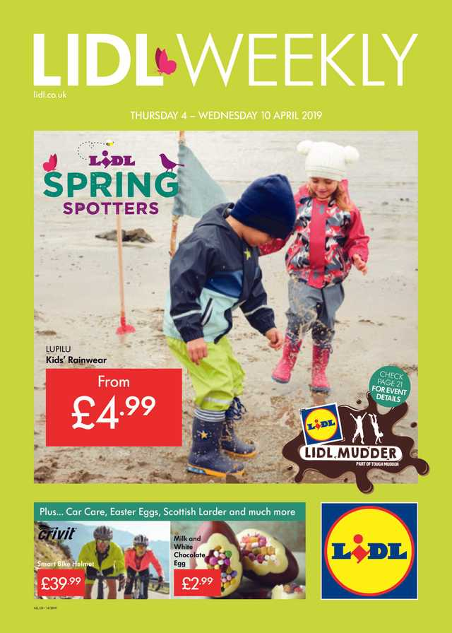 Lidl - promo starting from 2019-04-04 - page 1