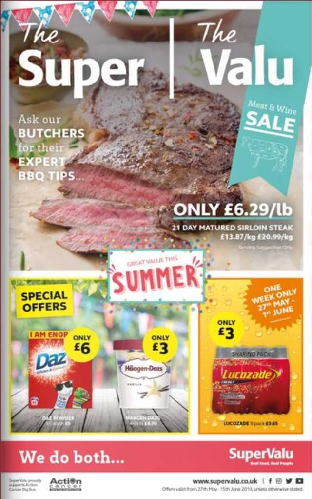 Supervalu - promo starting from 2019-05-27 - page 1