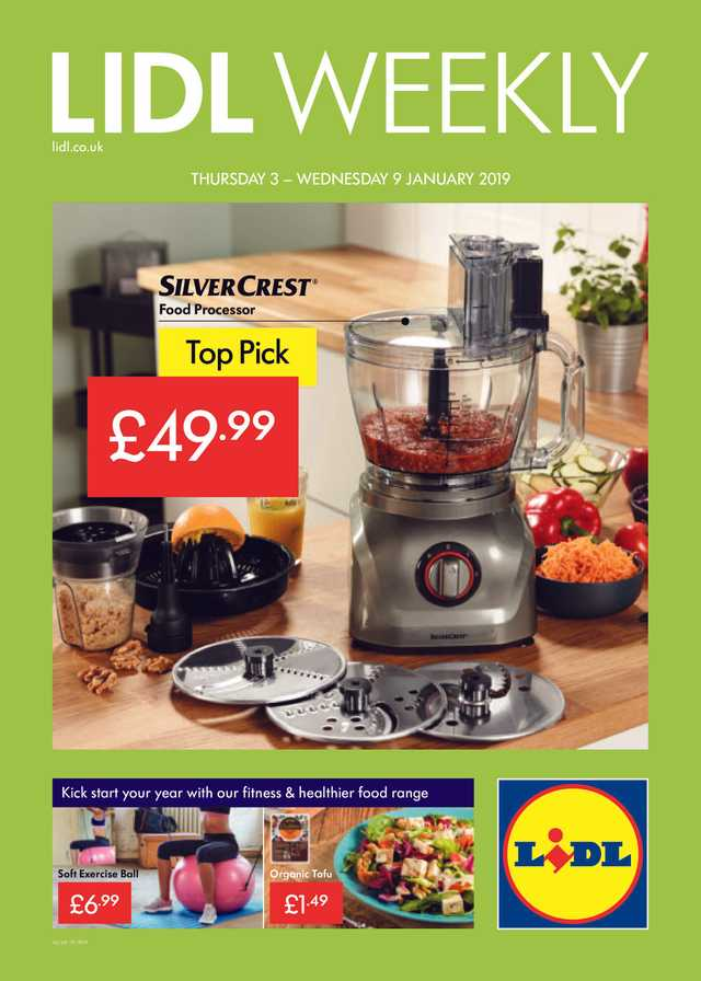 Lidl - promo starting from 2019-01-03 - page 1
