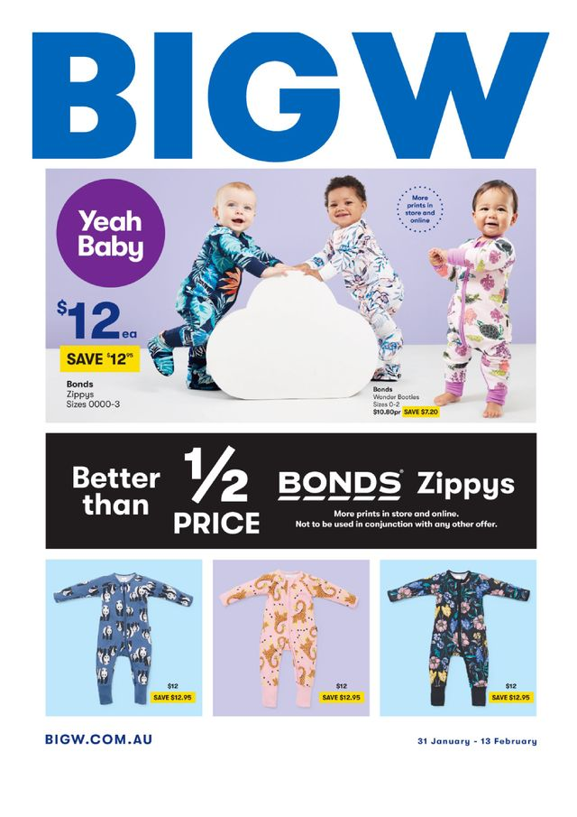 BIG W - promo starting from 2019-01-31 - page 1