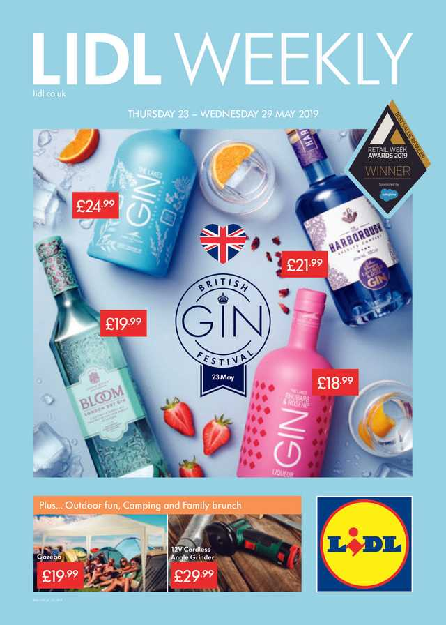 Lidl - promo starting from 2019-05-23 - page 1
