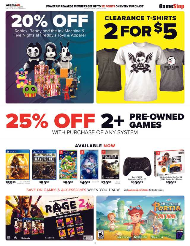 GameStop - promo starting from 2019-05-19 - page 3