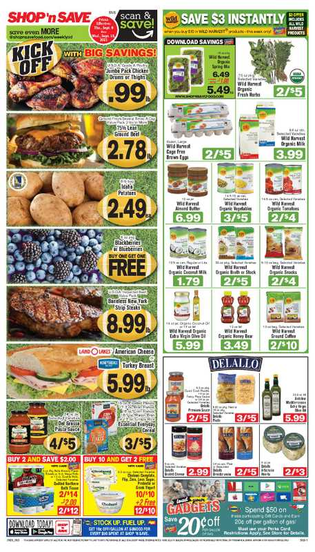Shop 'n Save - deals are valid from 09/09/21 to 09/15/21 - page 1.
