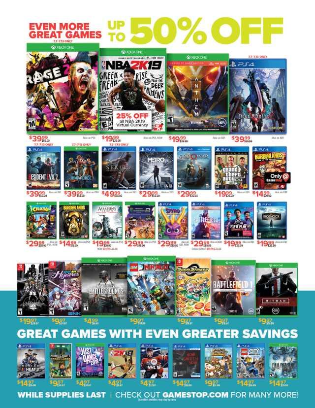 GameStop - promo starting from 2019-07-07 - page 3
