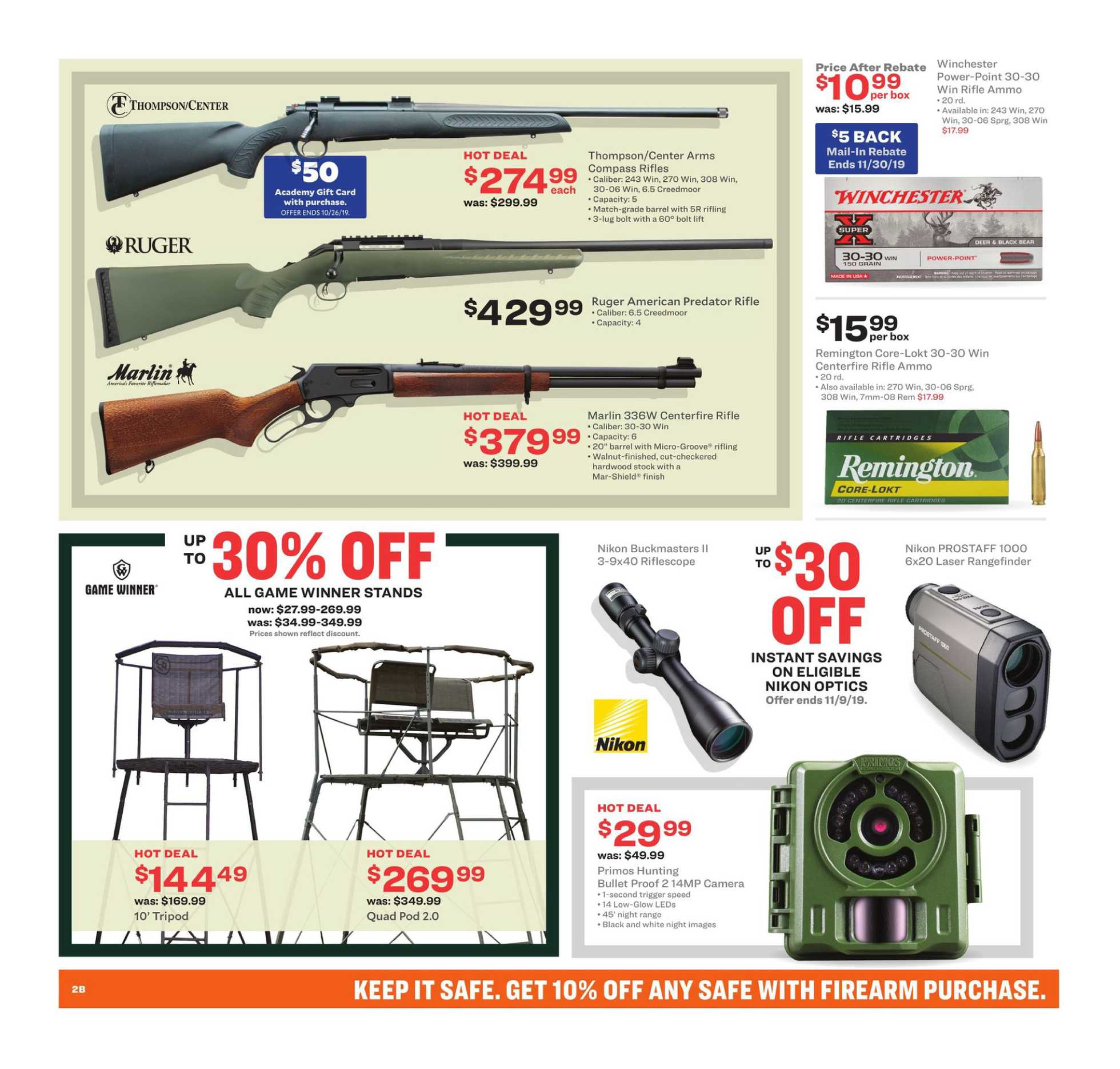Academy Sports + Outdoors - promo starting from 10/14/19 - page 4