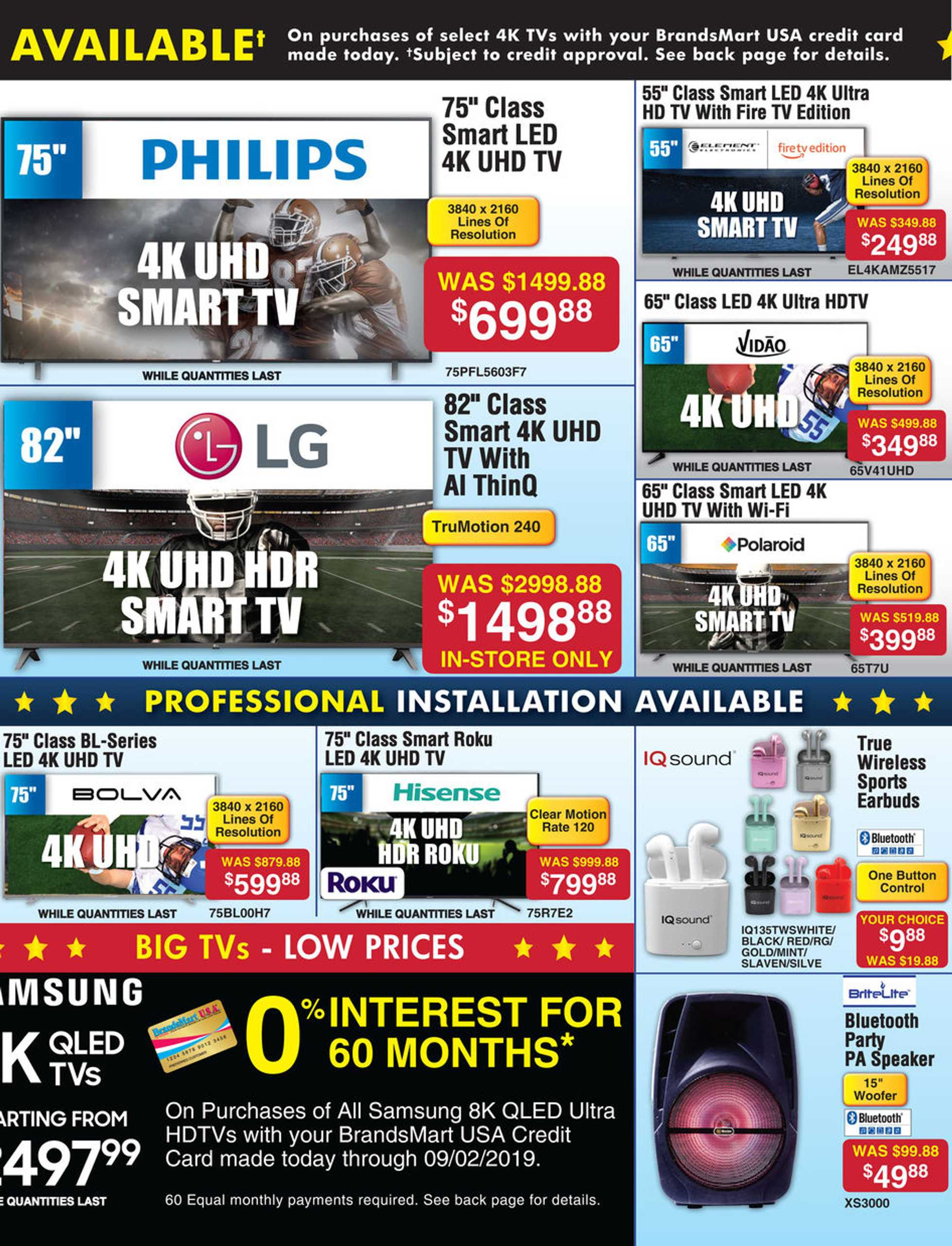 BrandsMart - promo starting from 20.08.2019 - page 4