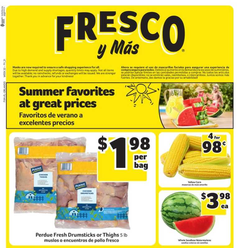 Fresco y Más - deals are valid from 05/26/21 to 06/01/21 - page 1.