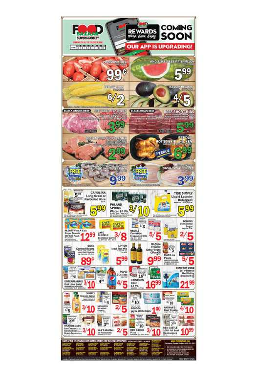 Food Bazaar - deals are valid from 06/03/21 to 06/09/21 - page 1.