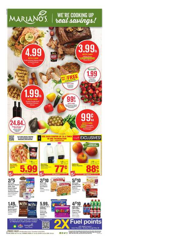 Mariano's - deals are valid from 05/13/21 to 05/19/21 - page 1.