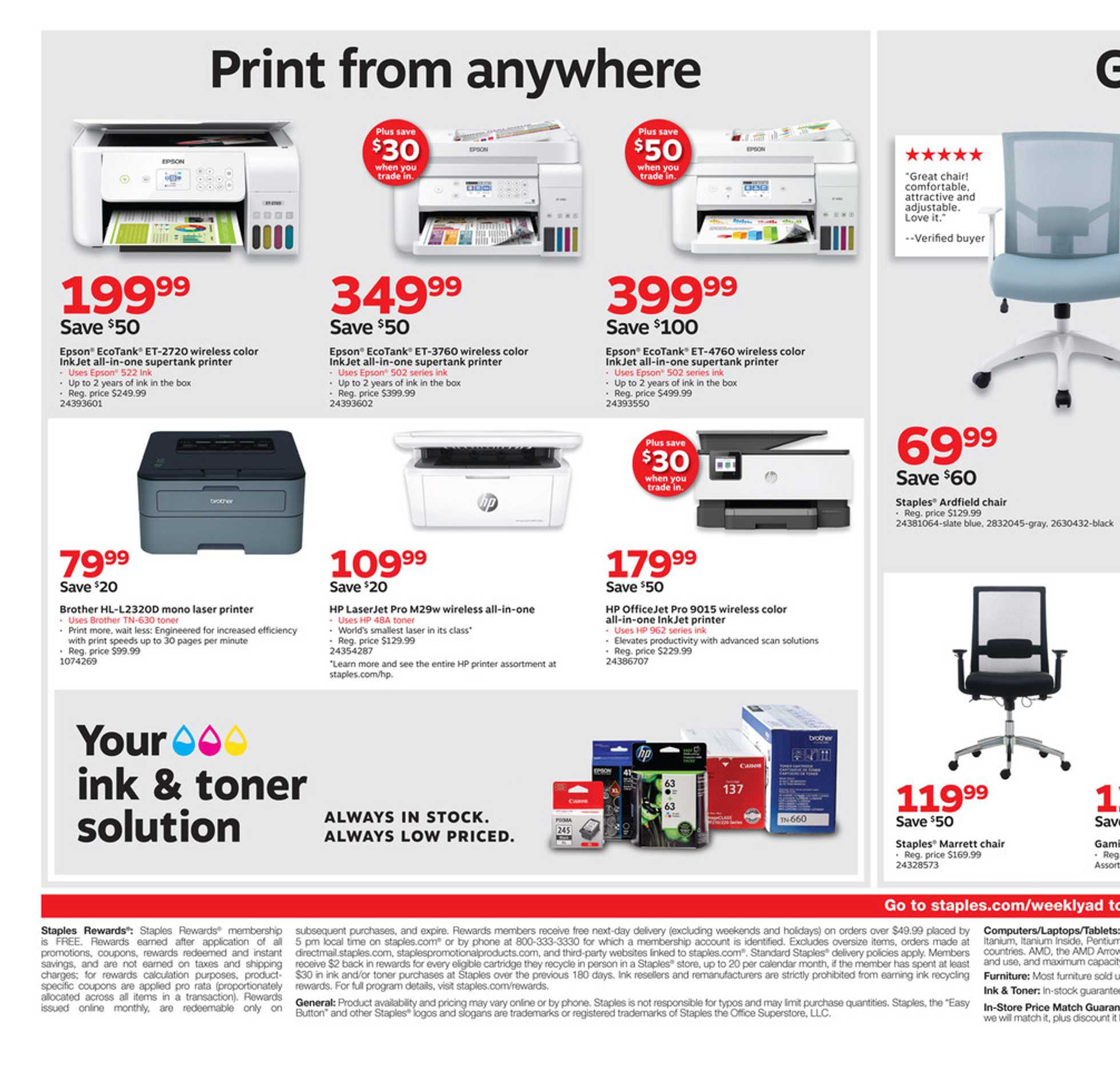 Staples - promo starting from 09/15/19 - page 2