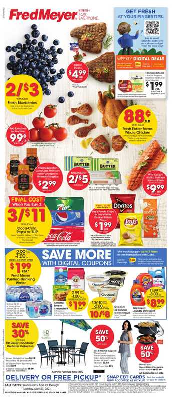 Fred Meyer - deals are valid from 04/21/21 to 04/27/21 - page 1.